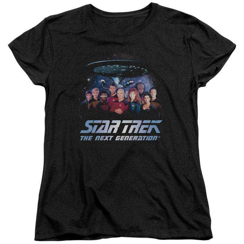 Star Trek - Space Group Short Sleeve Women's Tee