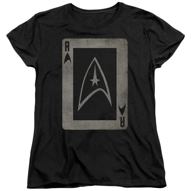 Star Trek - Tos Ace Short Sleeve Women's Tee