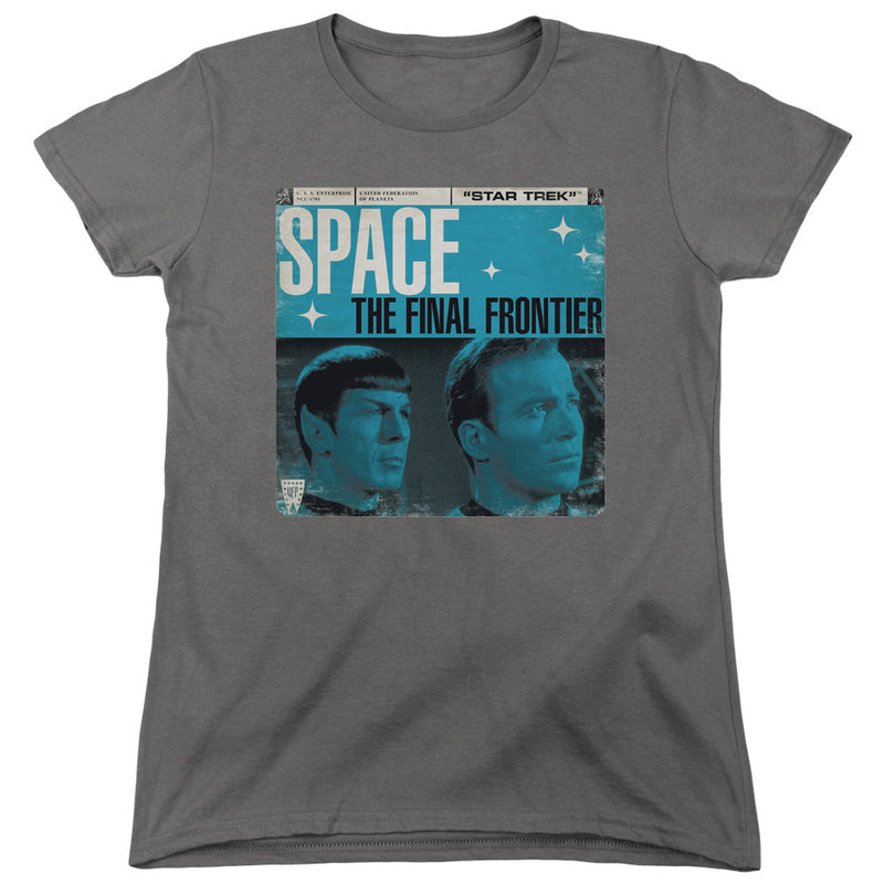 Star Trek - Final Frontier Cover Short Sleeve Women's Tee