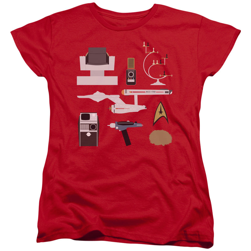 Star Trek - Tos Gift Set Short Sleeve Women's Tee