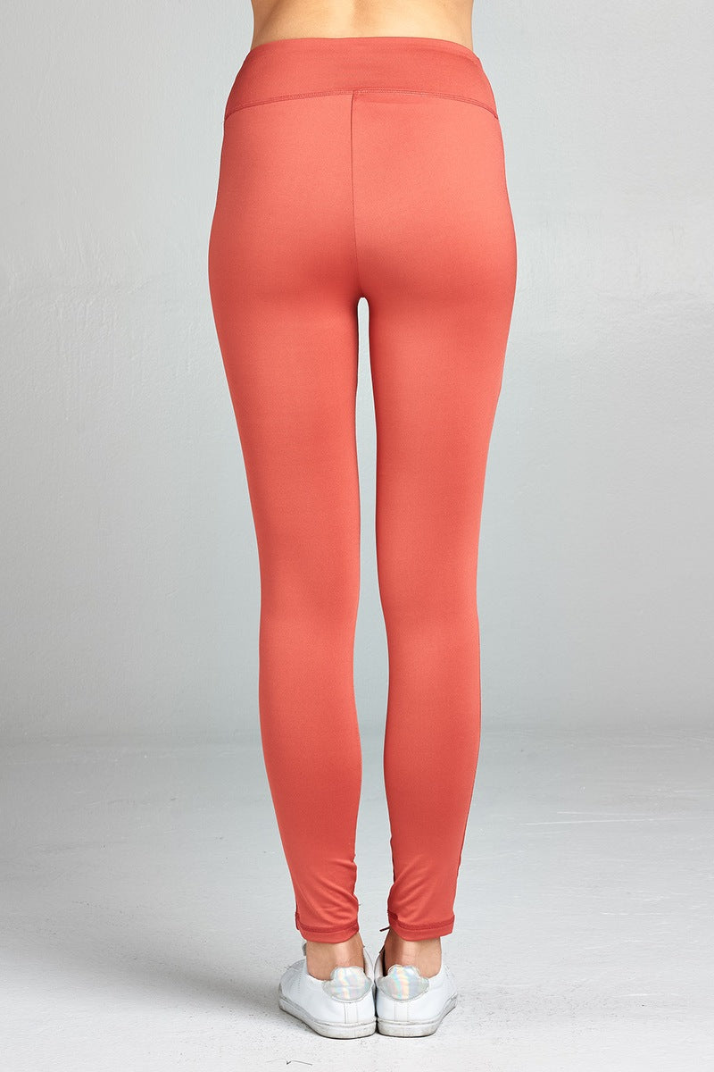 Ladies fashion workout ankle length pants