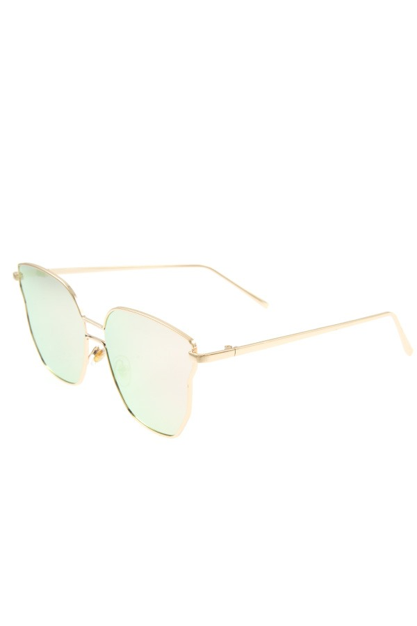 Color fashionable shapped sunglasses