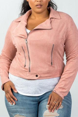 Ladies fashion (Plus Size) long sleeve quilted padding jacket