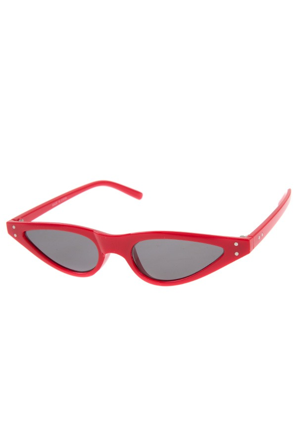 Fashionable skinny sunglasses