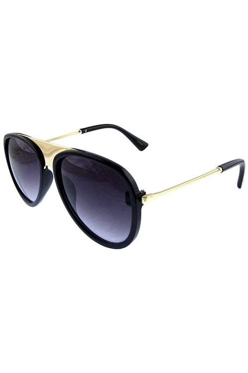 Womens simplistic aviator sunglasses