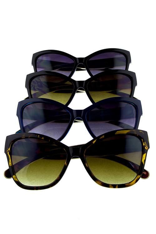 Womens outline cat eye sunglasses