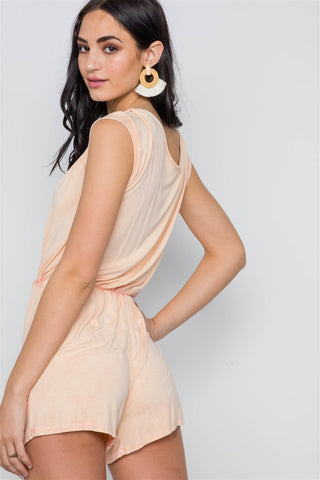 Women's Off the Shoulder Elastic Romper