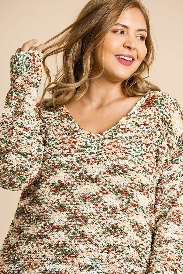 Pretty in plus size sweaters