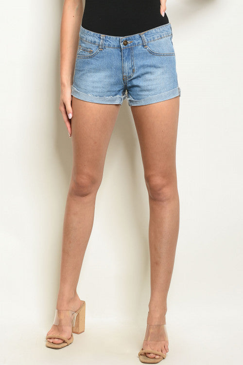 Rock America Denim Shorts $9.99