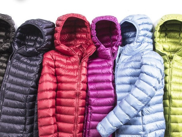 Hoodie Ultra Light Down Jackets, All Sizes & Colors.