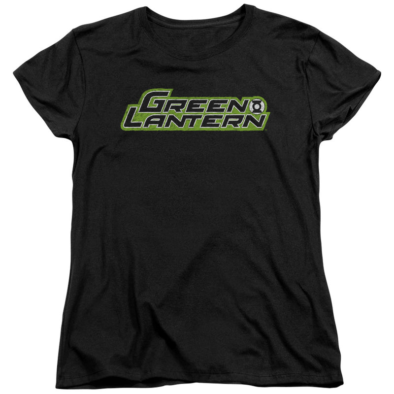 Green Lantern - Scribble Title Short Sleeve Women's Tee