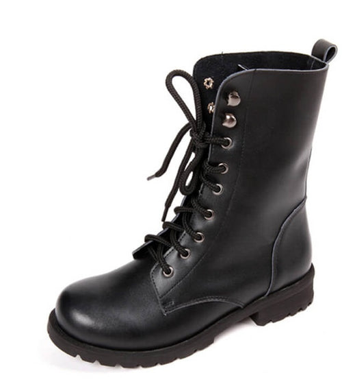Grunge it Girl, Black Boots, All Size