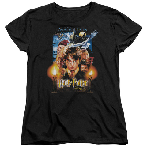 Kiss - Rock The House Short Sleeve Women's Tee