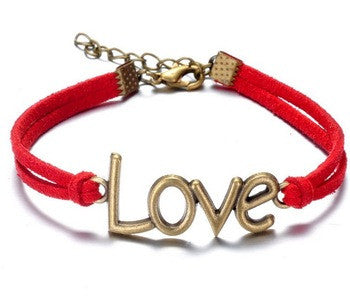 Red Cool love Stylish Girl ladies Fashion Bracelet