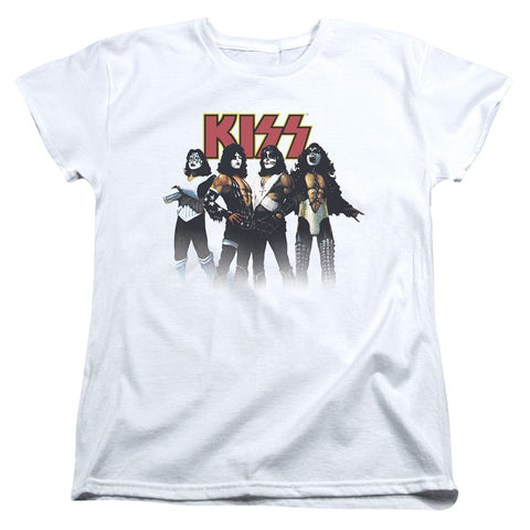 Kiss - Paint Circles Short Sleeve Women's Tee