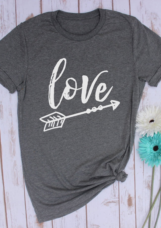 The LOVE shirts, all sizes