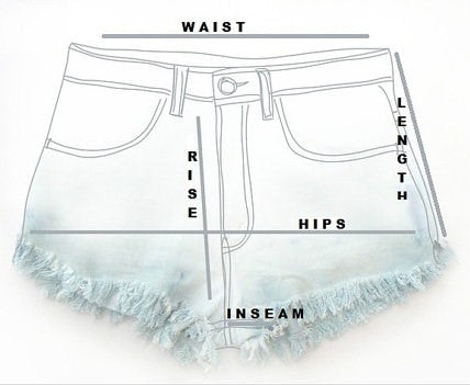 Mystery High Waisted Shorts: Sexy Jean Shorts : All Sizes