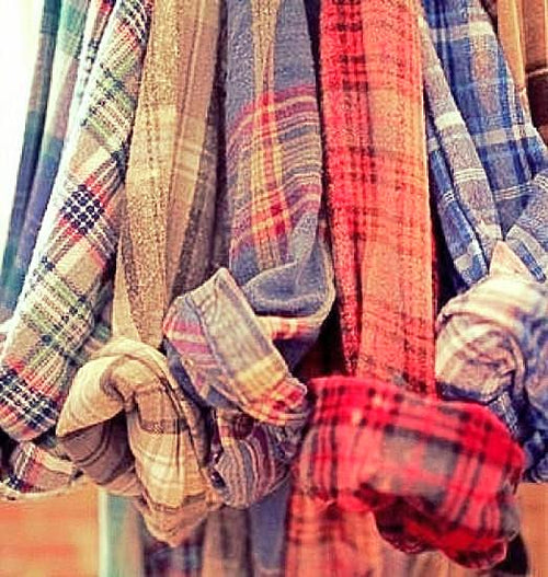 FLASH WINTER SALE, (UNISEX) Mystery Vintage Flannel Shirts - Pick Your Size & Color