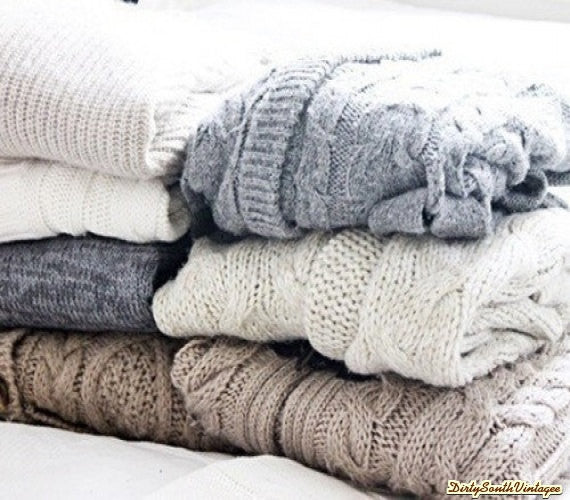 Mystery!!!! Sweaters - Over-sized Mystery Sweaters: All Hipster Colors - All Grunge Patterns.