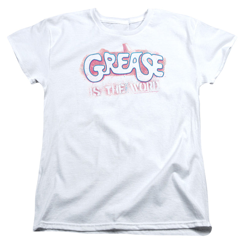 Grease - Grease Is The Word Short Sleeve Women's Tee