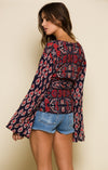 INFINITE NIGHTS ROBE WRAP TOP