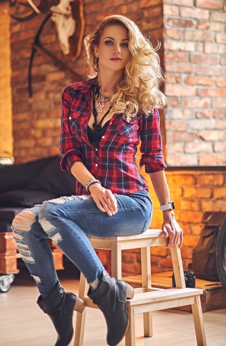 11239aba4d Random Flannel Plaid Shirt