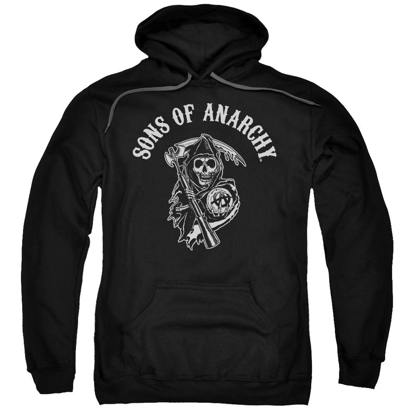 Sons Of Anarchy - Soa Reaper Adult Pull Over Hoodie
