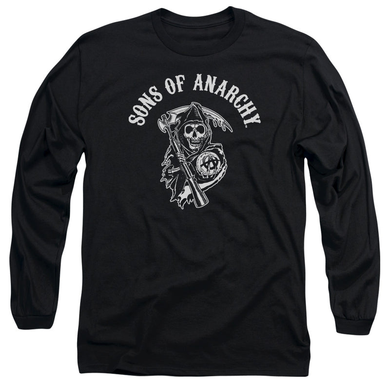 Sons Of Anarchy - Soa Reaper Long Sleeve Adult 18/1