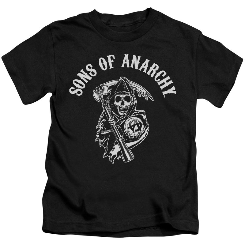 Sons Of Anarchy - Soa Reaper Short Sleeve Juvenile 18/1