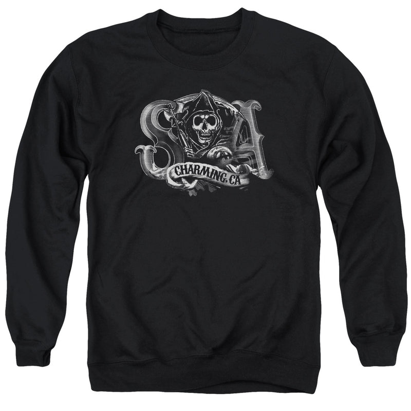 Sons Of Anarchy - Charming Ca Adult Crewneck Sweatshirt