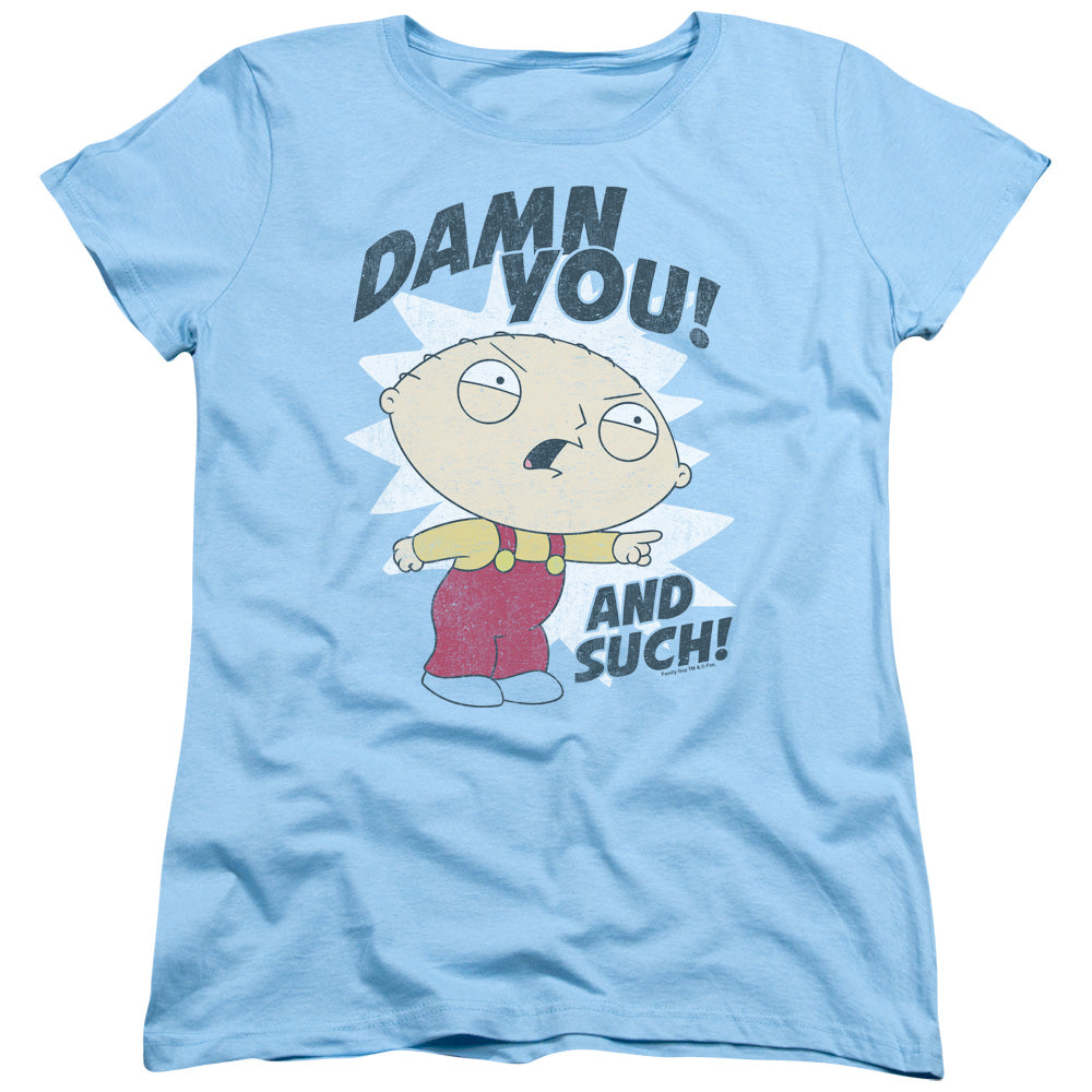 Family Guy - And Such Short Sleeve Women's Tee