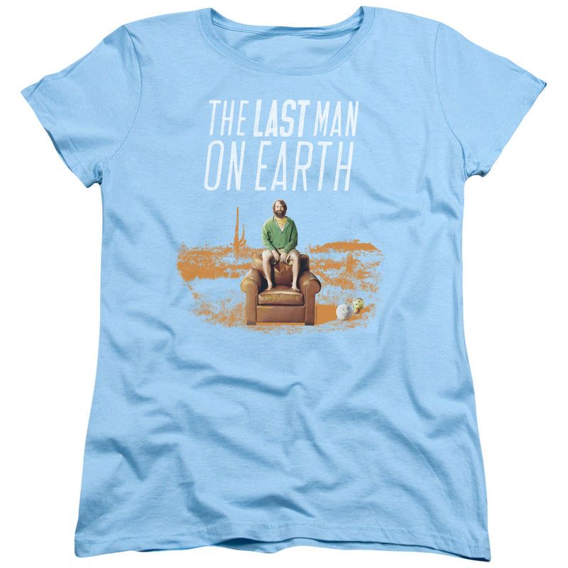 Last Man On Earth - Phil On Chair Short Sleeve Women's Tee