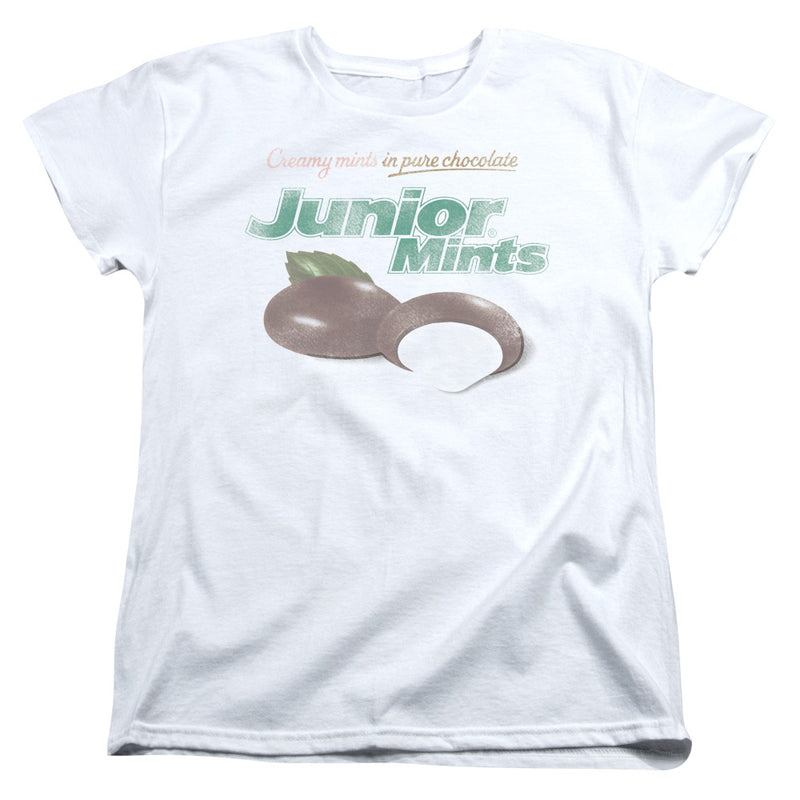 Tootsie Roll - Junior Mints Logo Short Sleeve Women's Tee