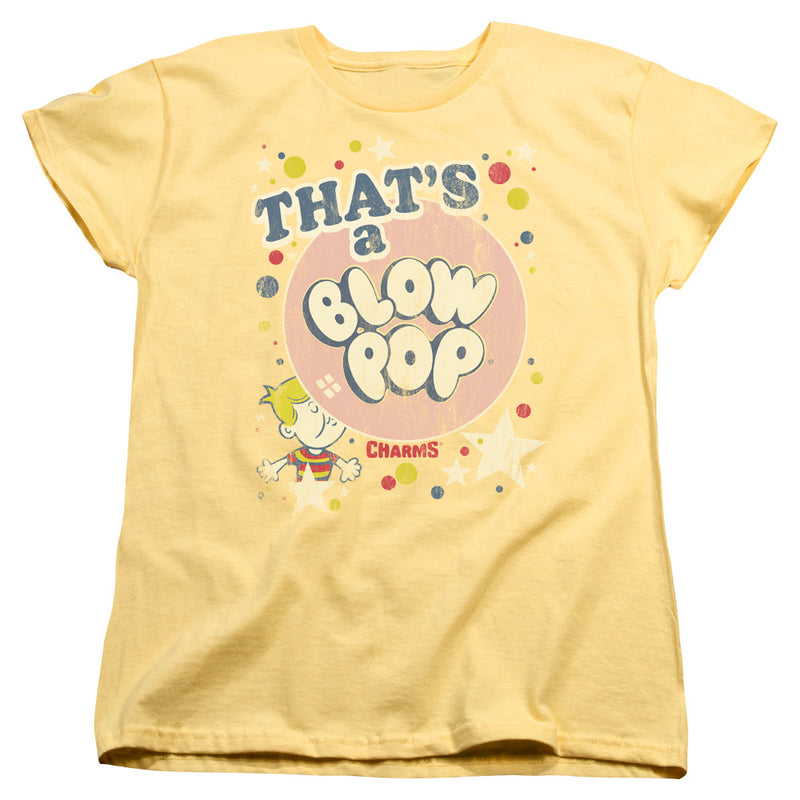 Tootsie Roll - That's A Blow Pop Short Sleeve Women's Tee
