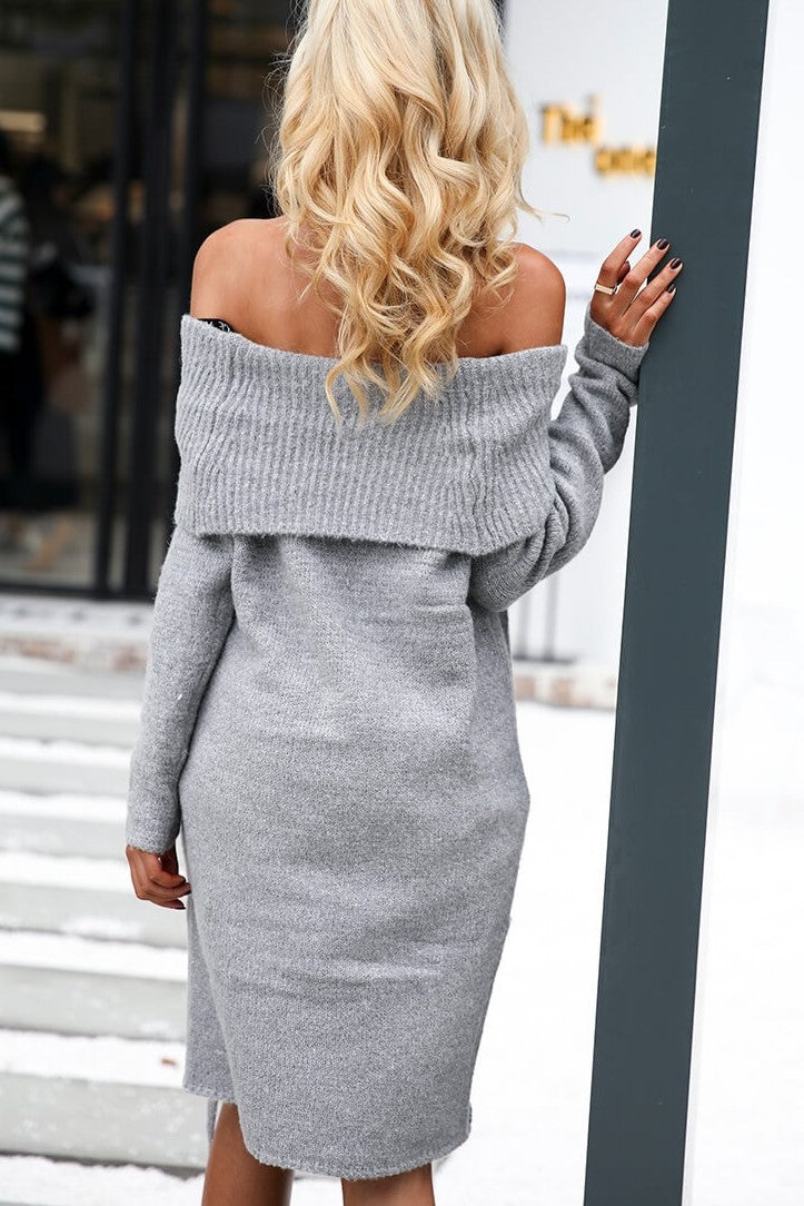 This Sassy Sweater Dress, 2 Colors.