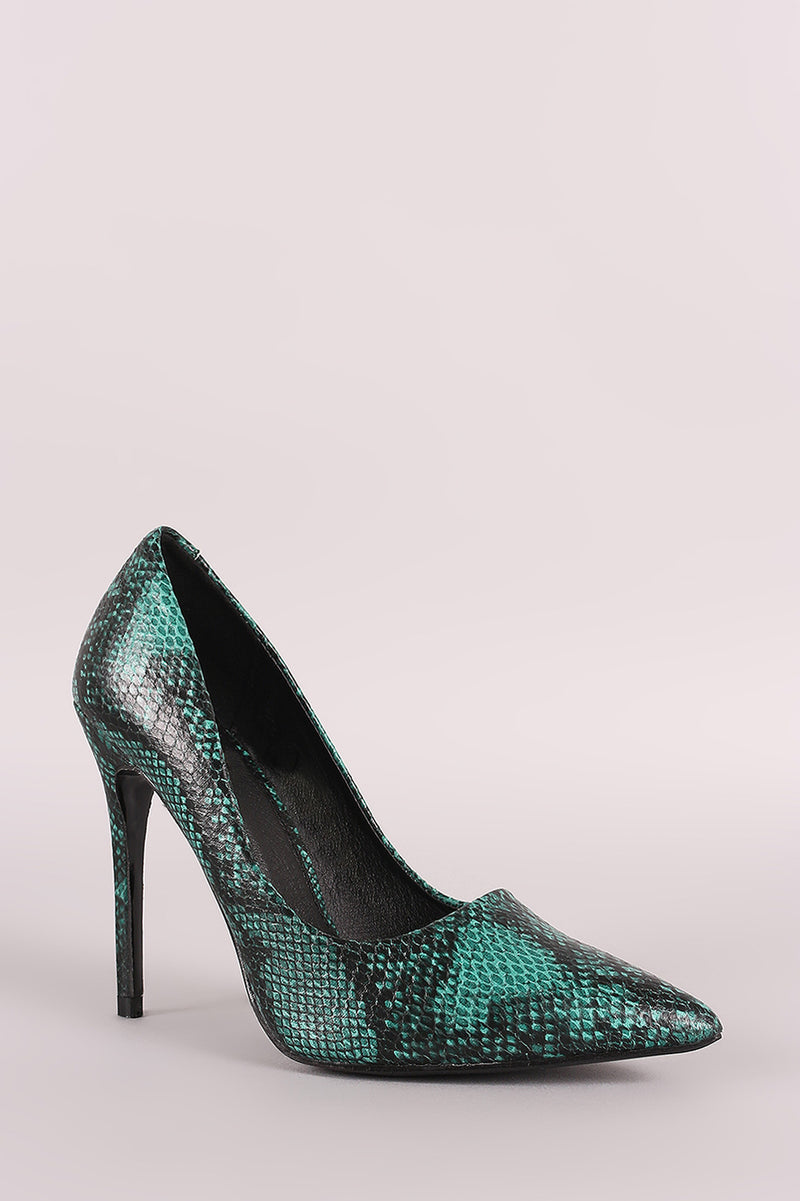 Python Print Pointy Toe Stiletto Pump