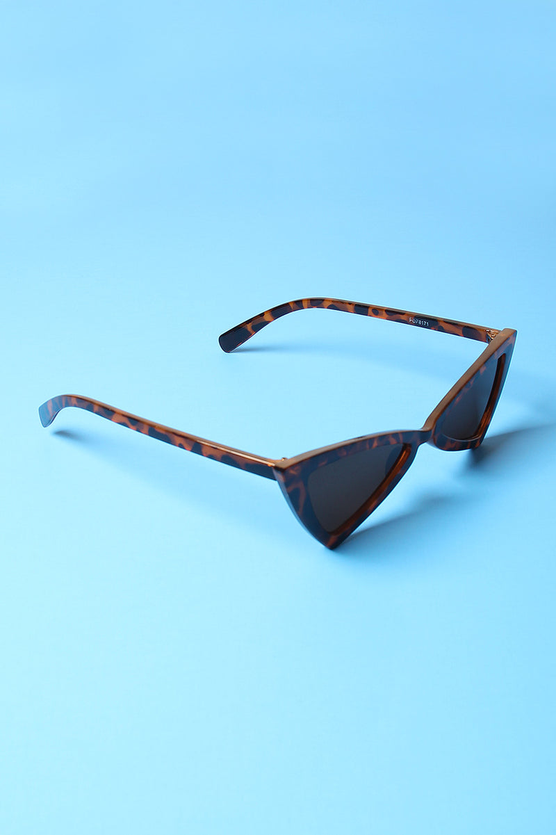 Pointed Cat Eye Small Sized Sunglasses