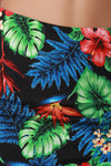 Bird Of Paradise Tropical Two Piece Dress.