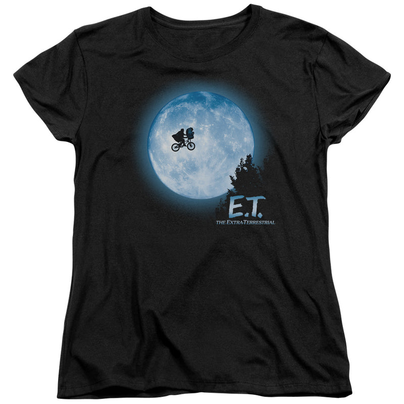 Et - Moon Scene Short Sleeve Women's Tee