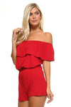 Ladies fashion v-neckline wrap w/cross strap cami rayon spandex top