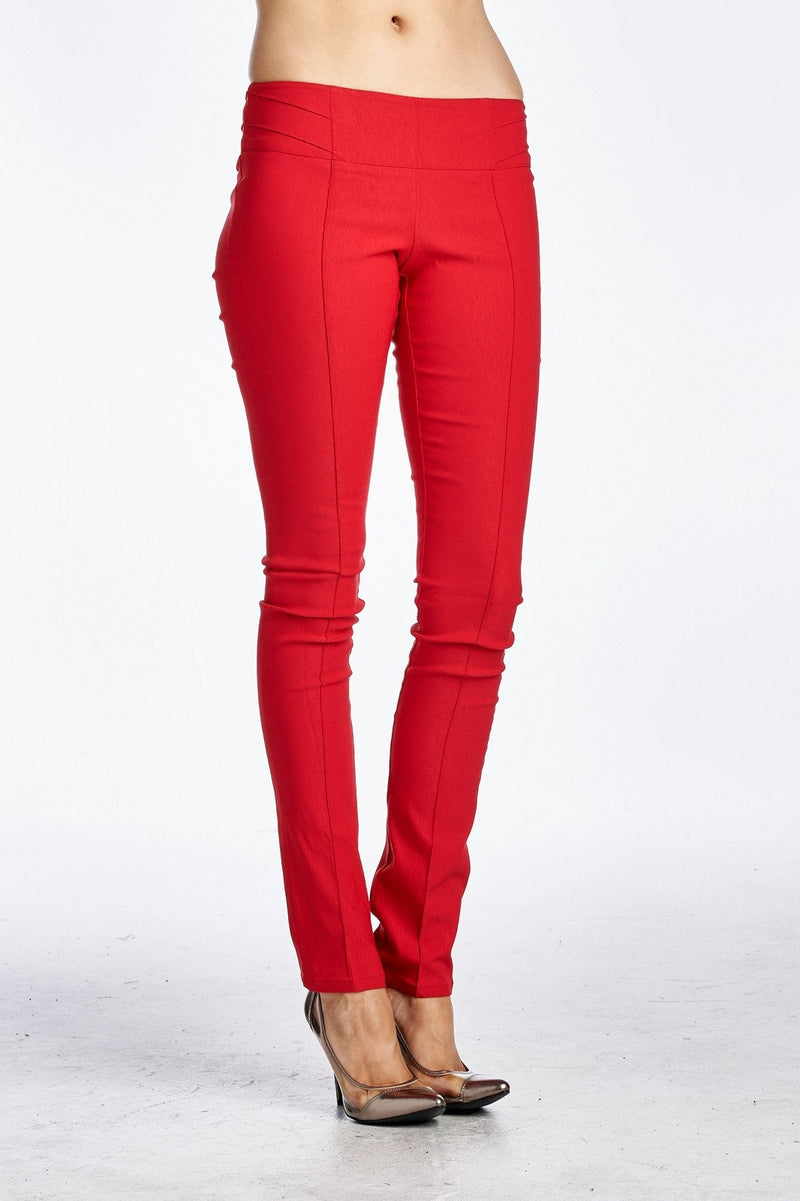 Women's Stretch Pleated Pants