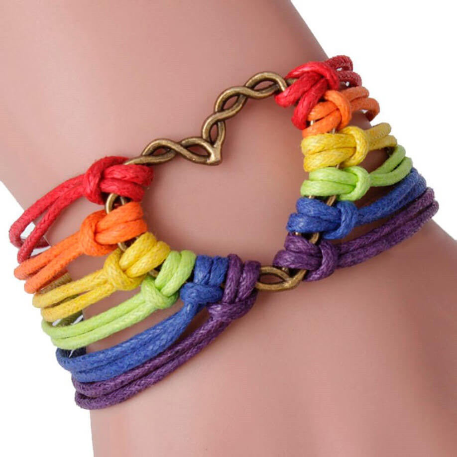 Multi Color Pretty Arm Candy Bracelet