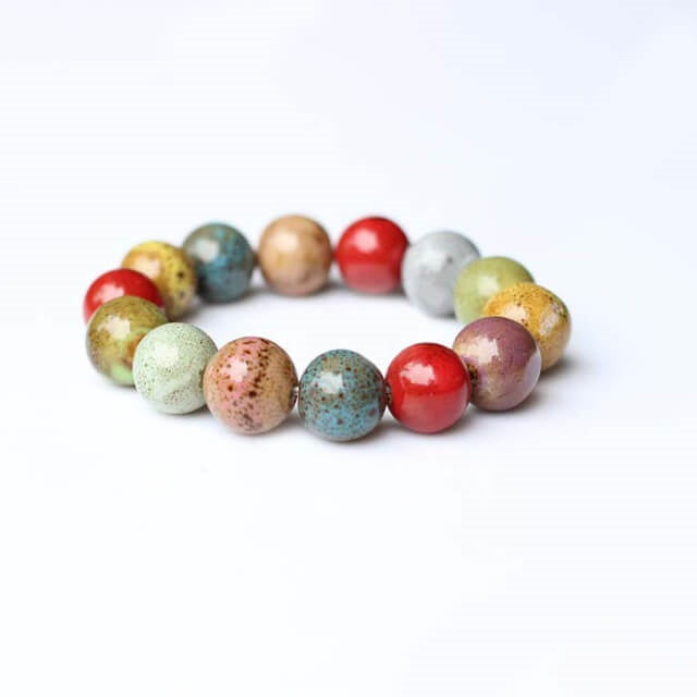 Beautiful Beaded Ceramic Bracelet