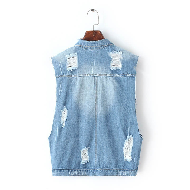 That Distressed Rad Vest is here!, All Sizes