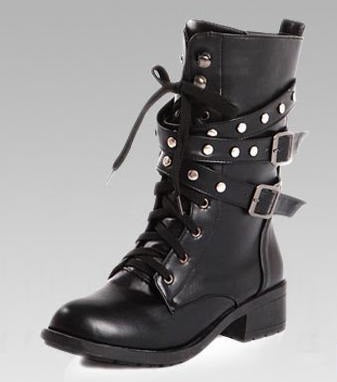 Rock these Boots Girl, Vegan Leather, All Sizes