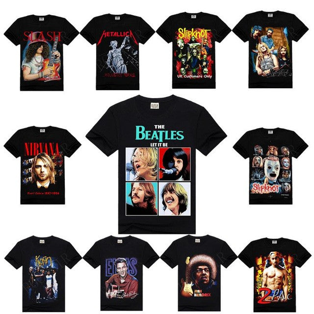 Mystery Vintage Inspired Band Tee Shirt,