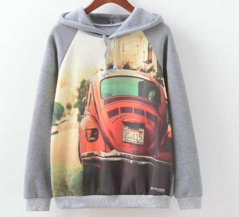 Hipster Sweatshirts, Pullovers, All Sizes