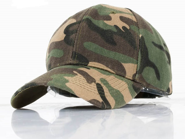 That Camo Hat Rules! Snapback Cap