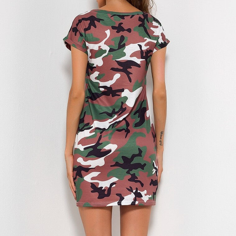 That Camo Dress, All Sizes.