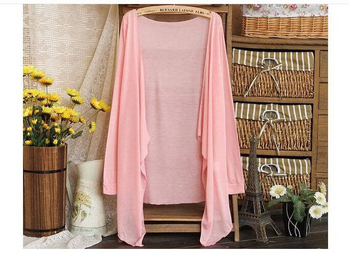 Summer Thin Light Airy Cardigan, Spring/Summer Wear, All Colors & Sizes